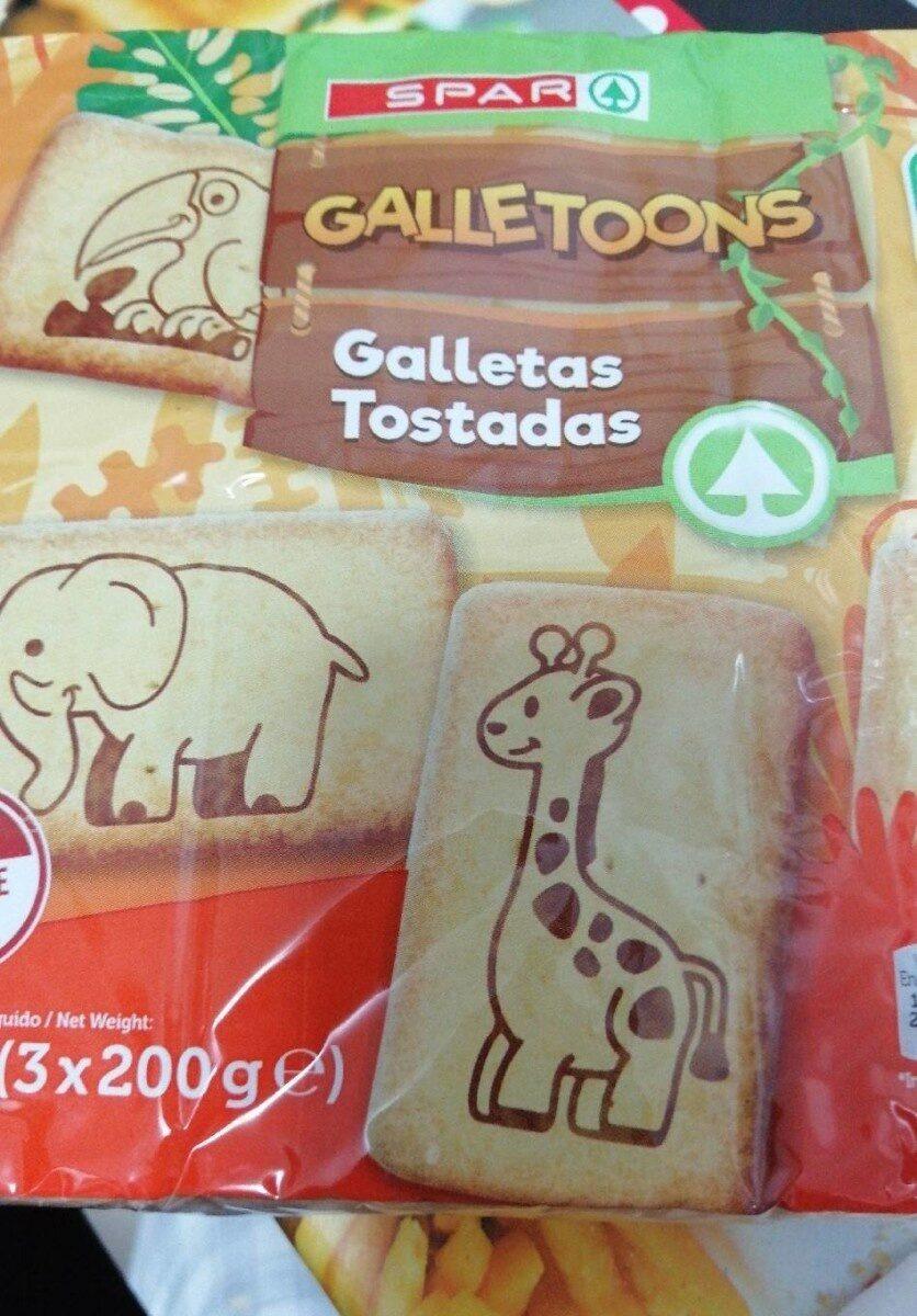 Galletas tostadas - Product - es