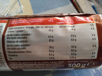 Digestives chocolate con leche - Nutrition facts - es