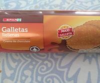 Galletas rellenas crema de chocolate - Producto
