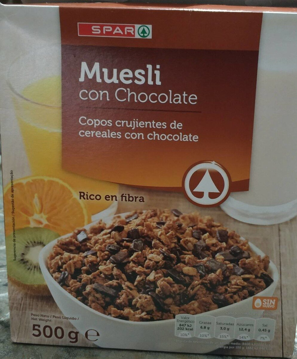 Muesli con chocolate - Product - es
