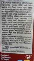 Cereaissparmueslic / Chocolate500grcx8 - Ingrediënten