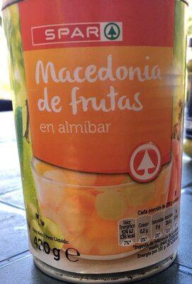 Macedonia de frutas - Produit