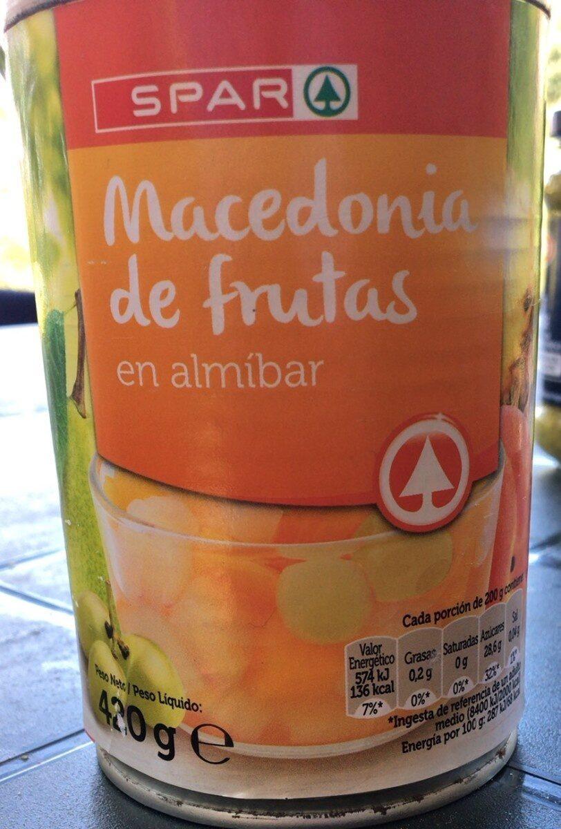 Macedonia de frutas - Produit - fr