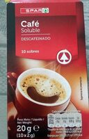 Café soluble descafeinado - Producte - es