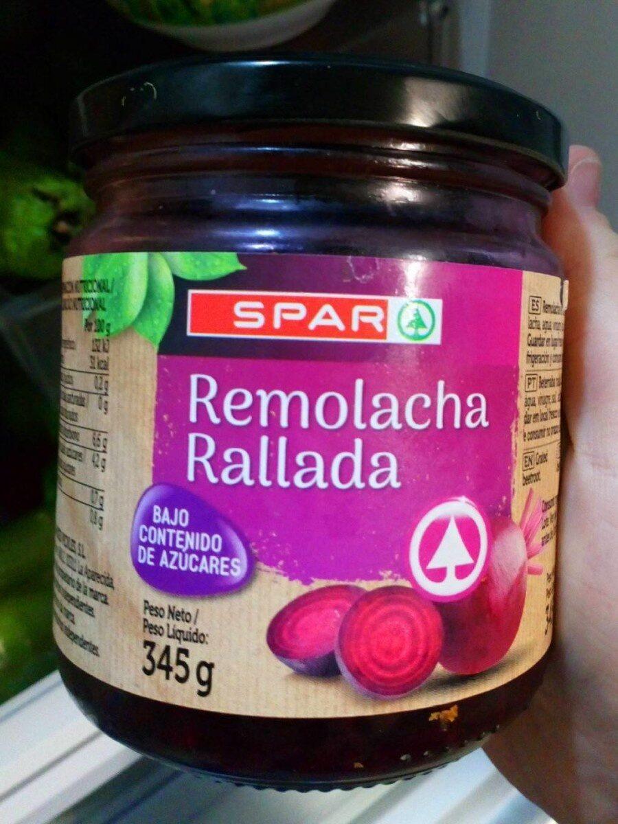 Remolacha rallada - Produit - es