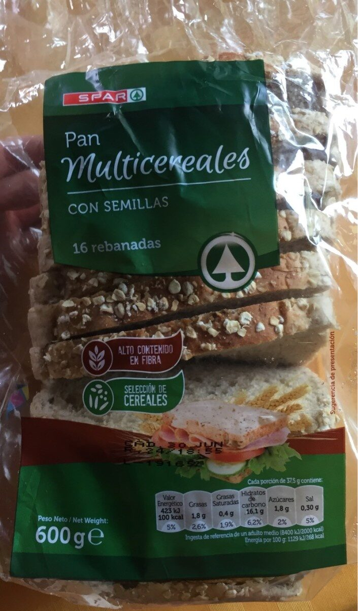 Pan Multicereales - Product - es