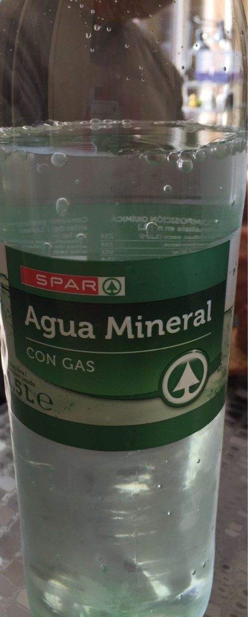 Agua mineral - Product