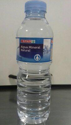 Agua natural mineral - Producto - es