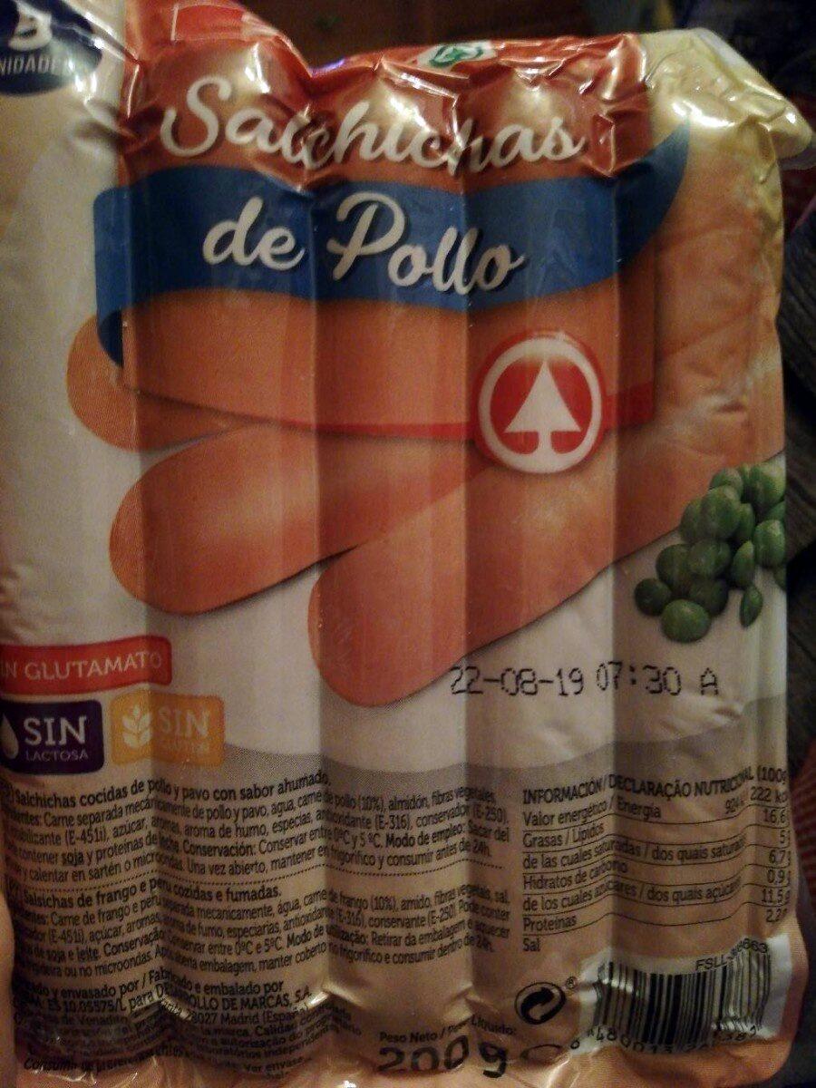 Salchichas de pollo - Product - es