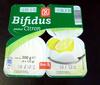 Bifidus saveur Citron - Product