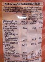 Alubia pinta - Informació nutricional