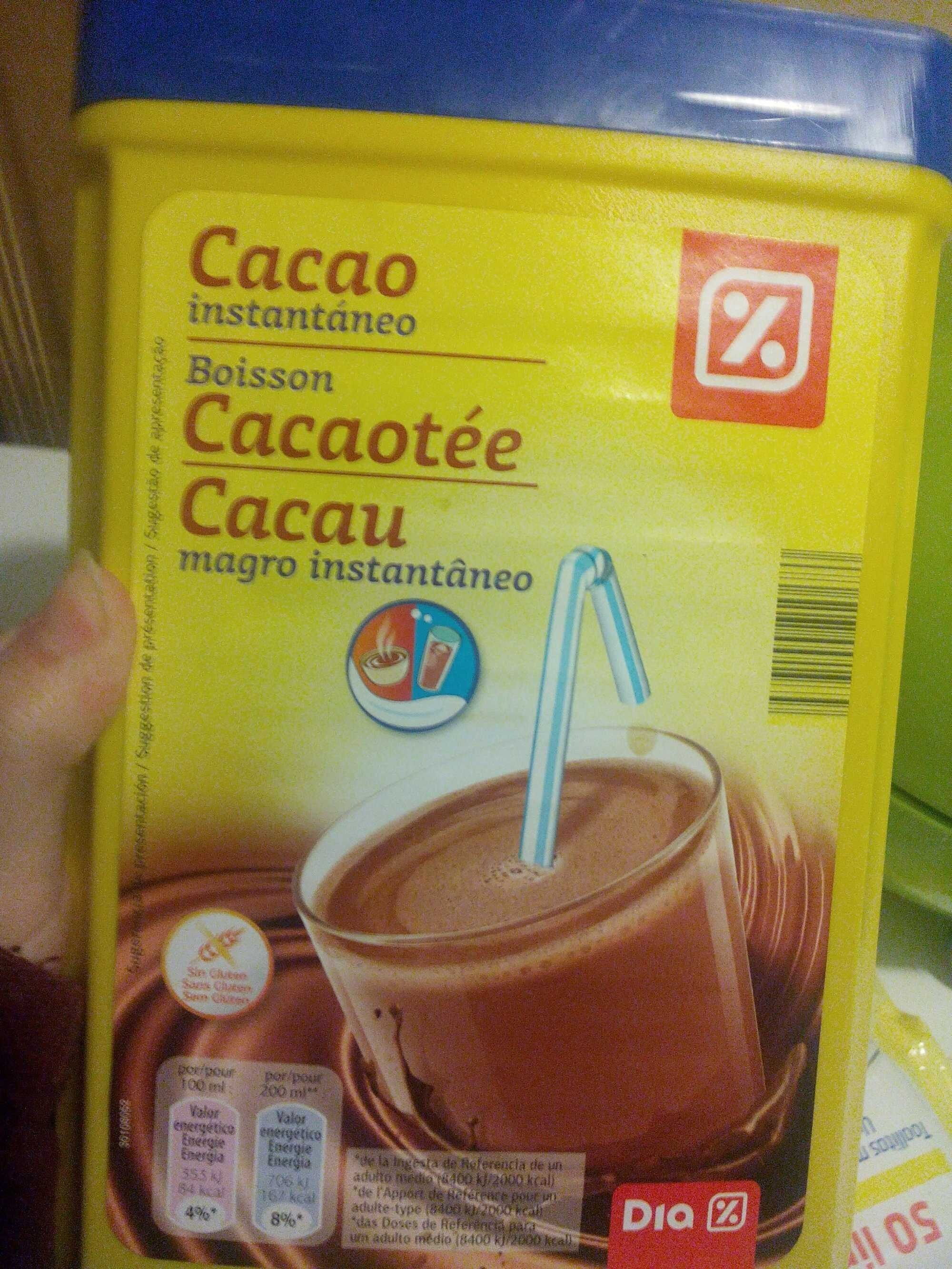 Boisson Cacaotée - Producto - es