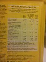 Boisson Cacaotée - Información nutricional