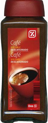 Café soluble descafeinado - Product - es
