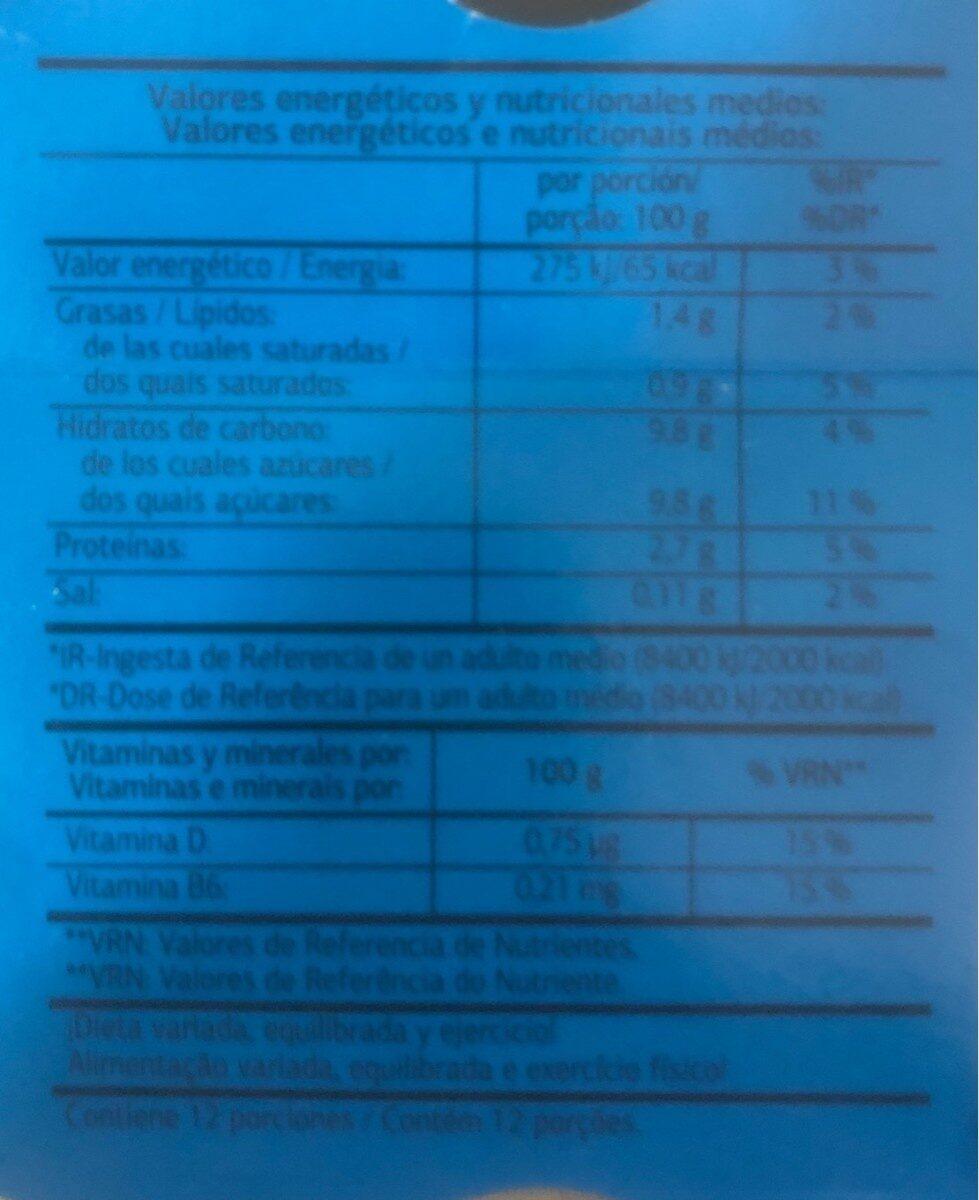 L. Casei Natural - Voedingswaarden - es
