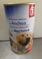 Aceitunas Rellenas de Anchoa Dia - Product - fr