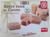 Sucre Roux de Canne - Produit