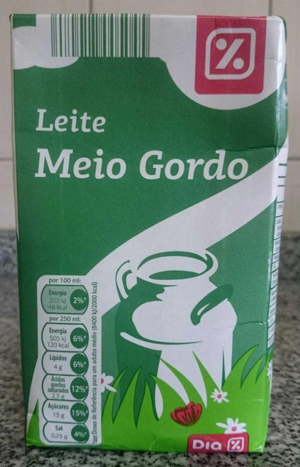 Leche semi desnatada - Produto