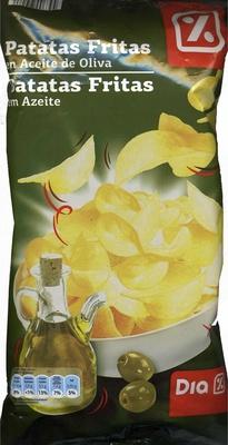 """Patatas fritas lisas """"Dia"""" en aceite de oliva - Producto - es"""