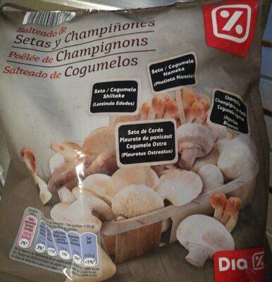 Salteado de setas y champiñones congeladas Dia - Produit - es