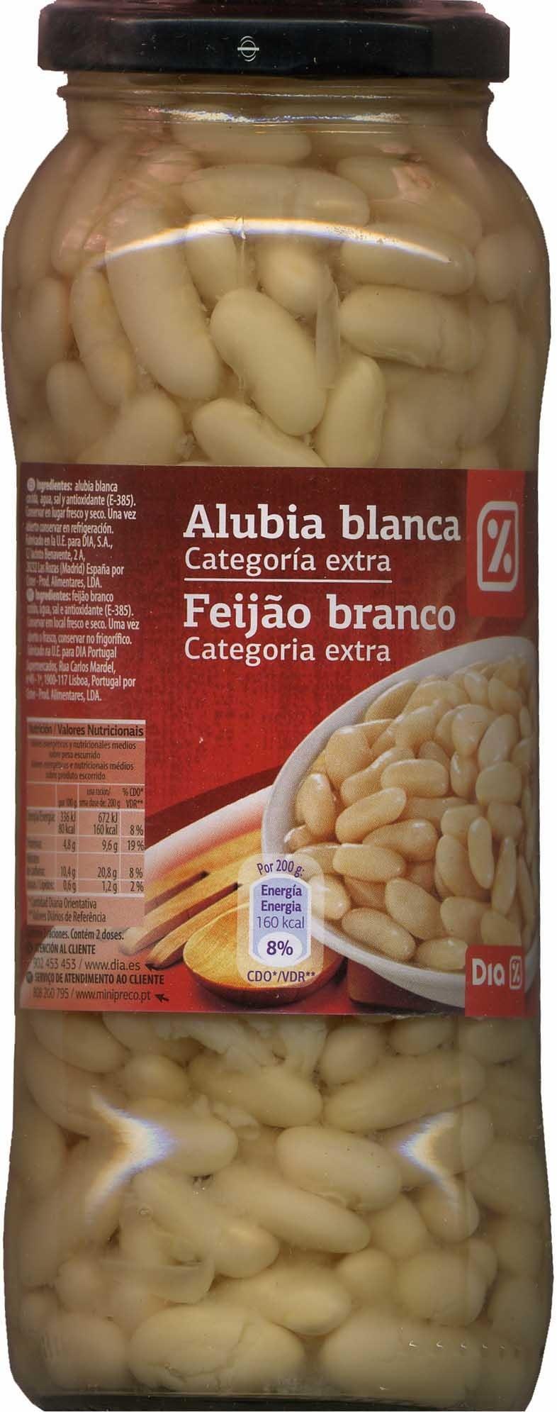 Alubias blancas cocidas en conserva - Product
