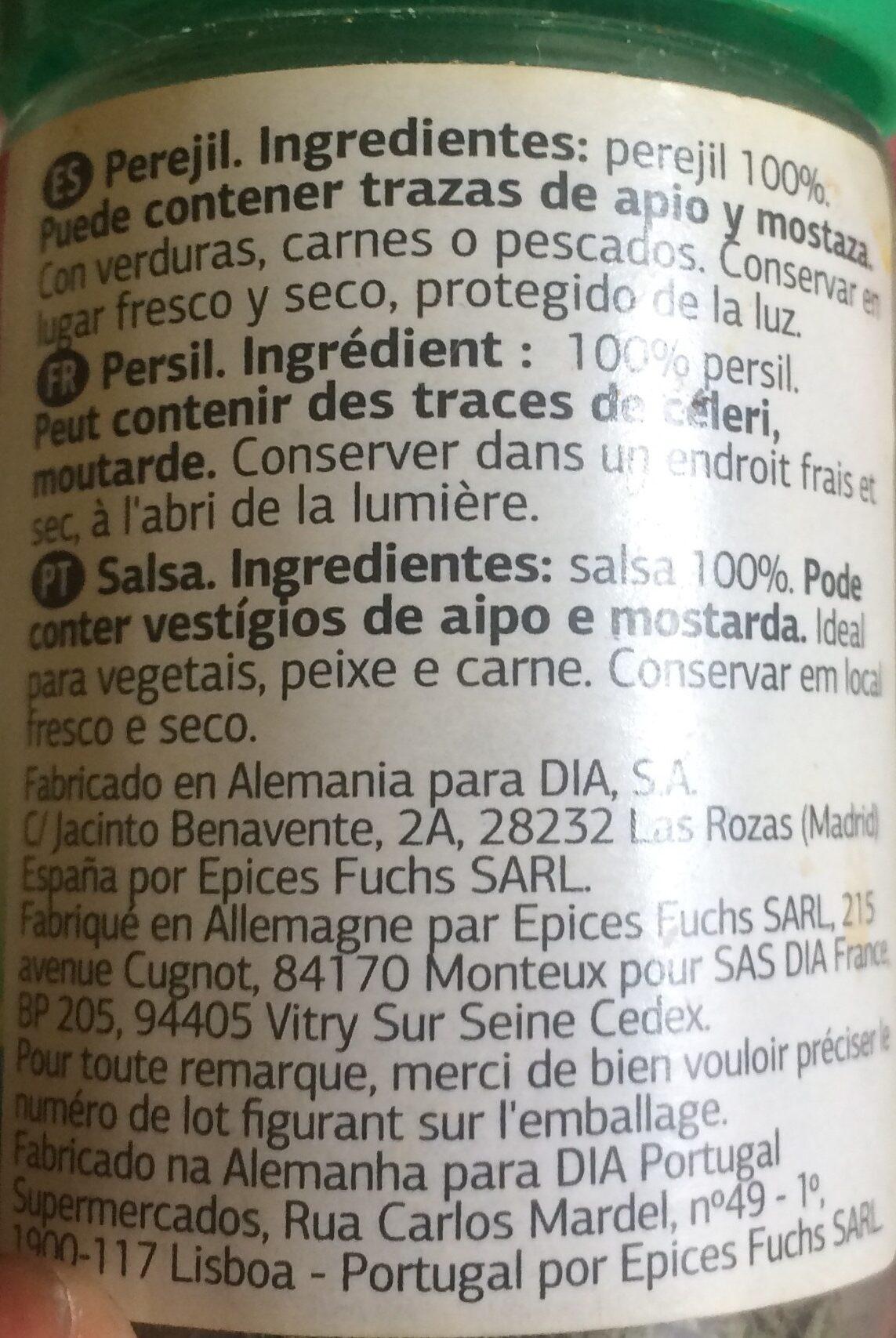 Salsa - Ingrediënten