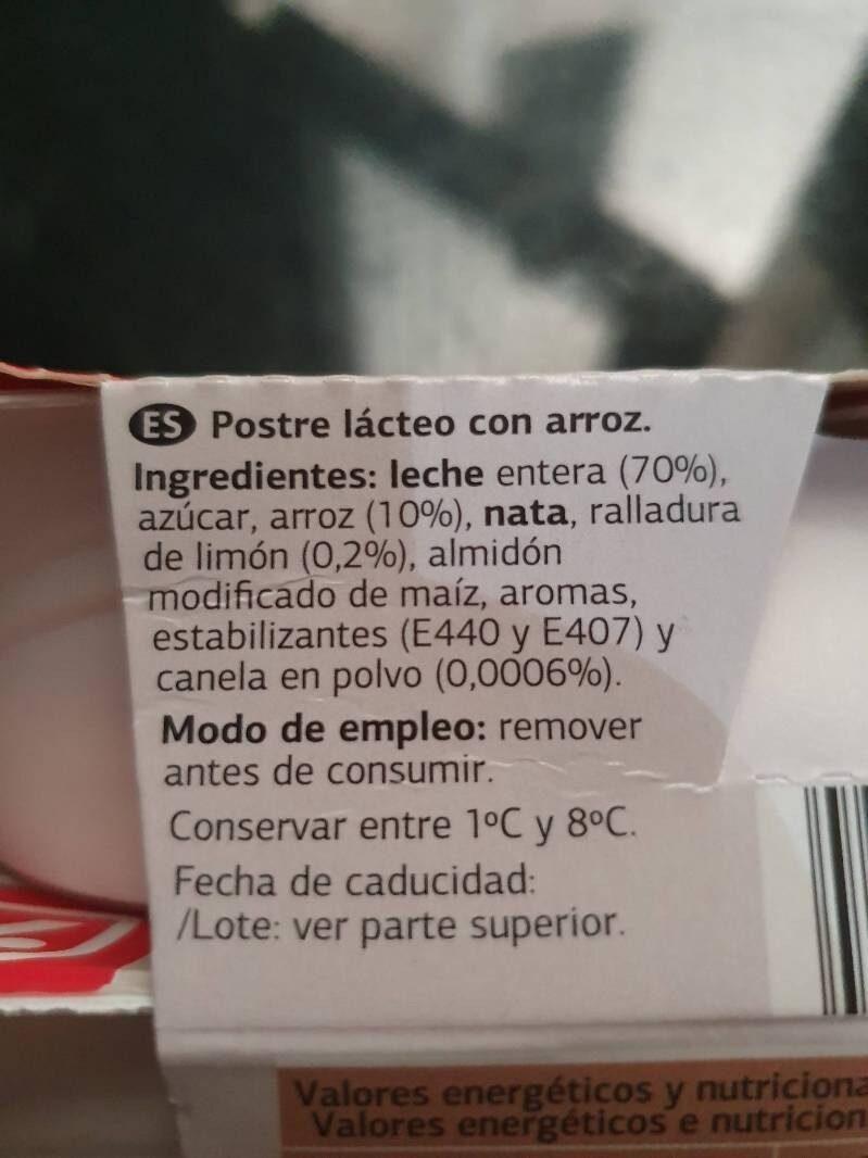 Arroz con leche - Product