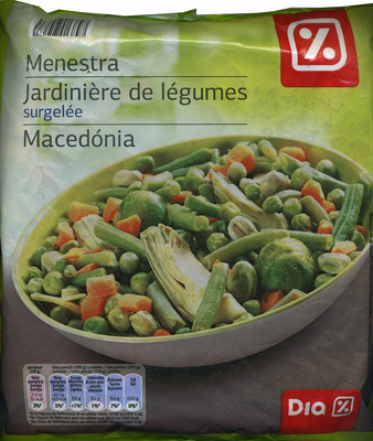 Menestra de verduras ultracongelada Dia - Producto