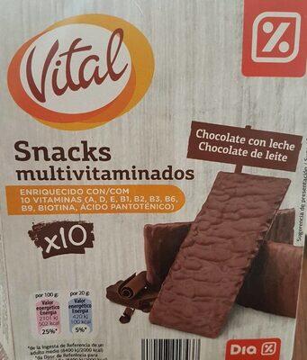 Vital snacks multivitaminas - Product - es