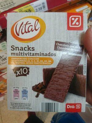 Snack multivitaminado Chocolate con Leche - Producto