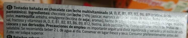 Vital snacks multivitaminas - Ingredients - es