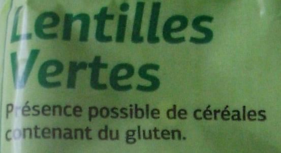 Lentilles Vertes - Ingrediënten - fr