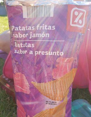 Patatas fritas sabor jamón - Producto - fr