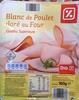 Blanc de Poulet doré au Four (Qualité Supérieure) 4 Tranches - Produit