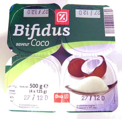 Bifidus saveur Coco - Product - fr