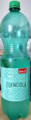 Fuencisla agua mineral natural con gas - Producto - es