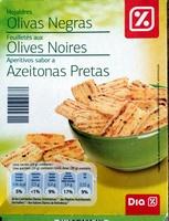Feuilletés aux olives noires - Produit - fr