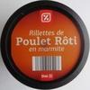 Rillettes de Poulet Rôti en marmite - Product