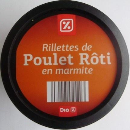 Rillettes de Poulet Rôti en marmite - Product - fr
