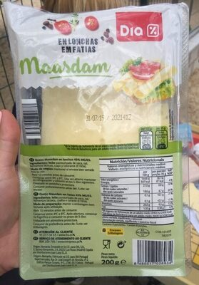 Queso maasdam - Product