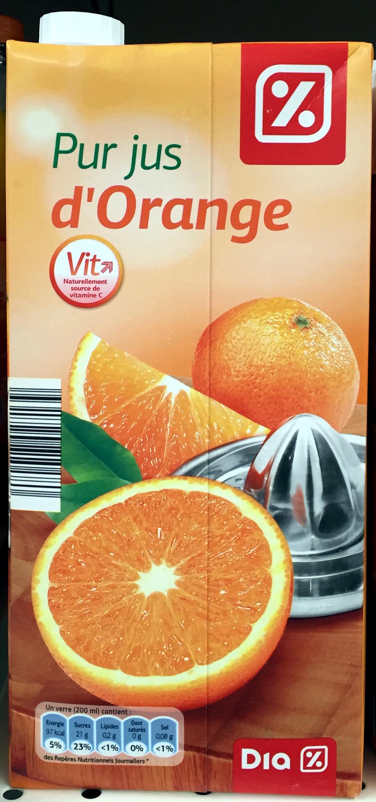 Pur jus d'orange - Product - fr