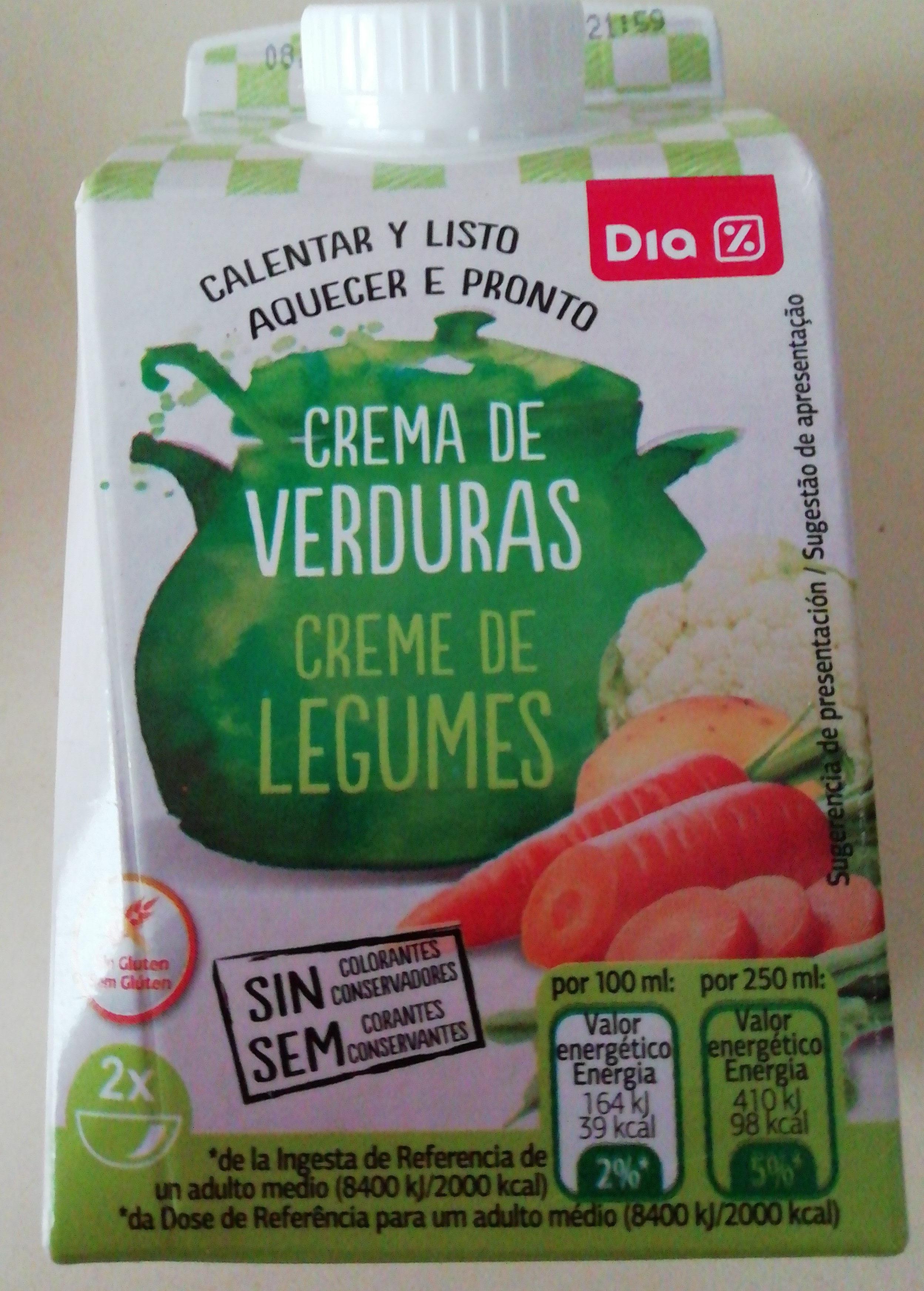 Crema de verduras DIA - Producto