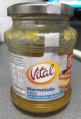 Mermelada de melocotón extra con edulcorante - Producto
