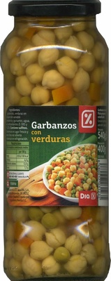 Garbanzos con verduras - Produit - es
