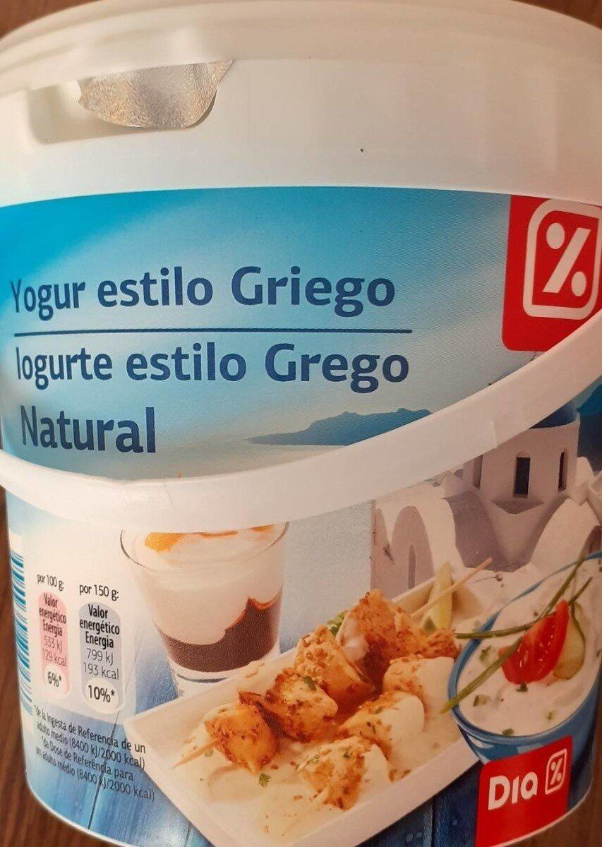 Yogur estilo Griego - Producte - es