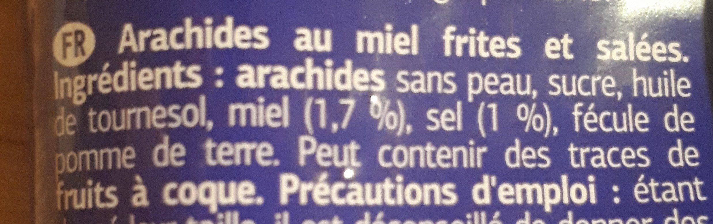 Cacahuetes con miel - Ingrediënten - fr