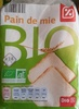 Pain de mie Bio - Product