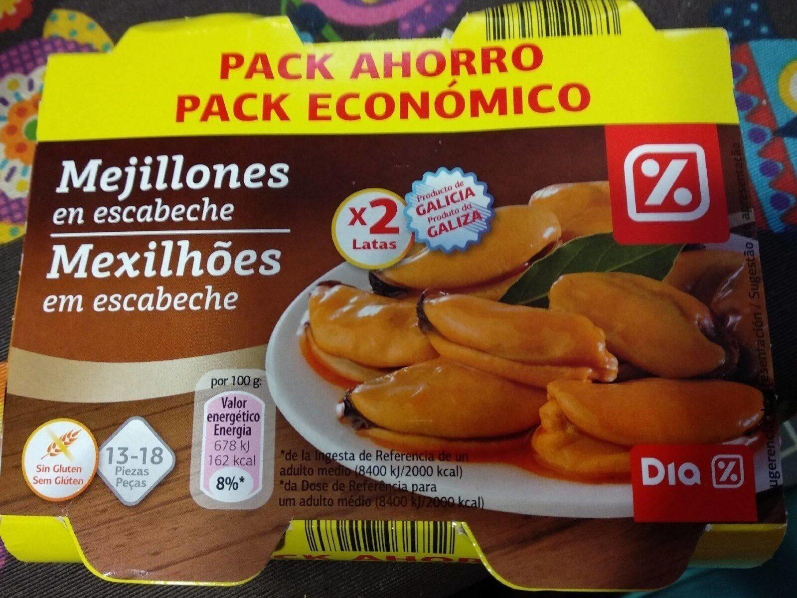 Mejillones en escabeche - Produit - es