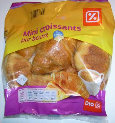 Mini croissants pur beurre - Product