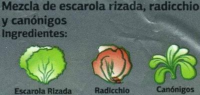 Ensalada Gourmet - Ingredientes - es